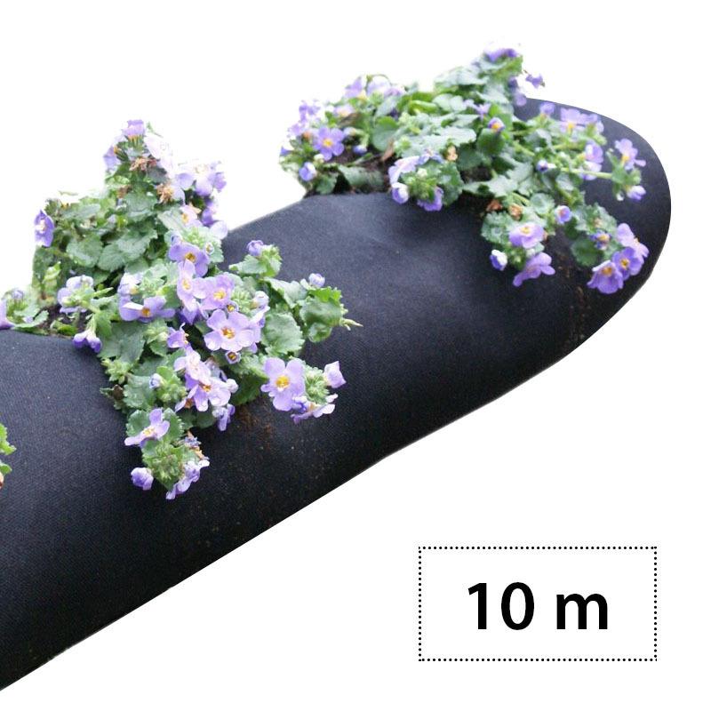 weed tessuto tessuto giardino tubo impianto professional 10 m. Black Bedroom Furniture Sets. Home Design Ideas