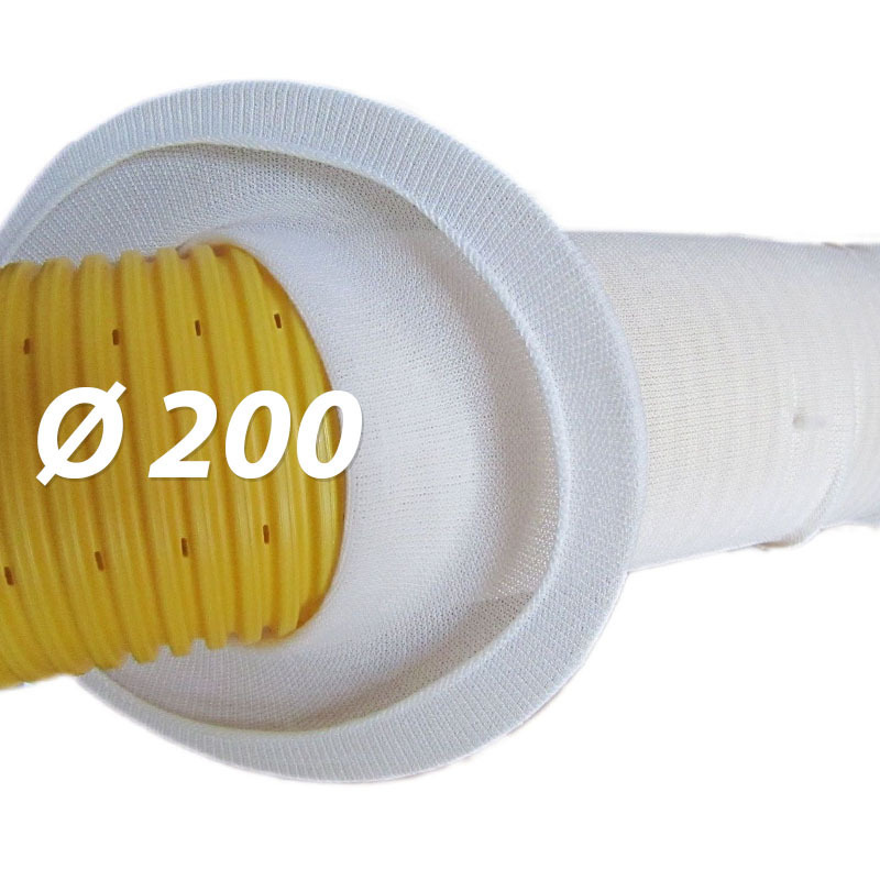 5m f200 drainagefilterschlauch drainagevlies f r. Black Bedroom Furniture Sets. Home Design Ideas