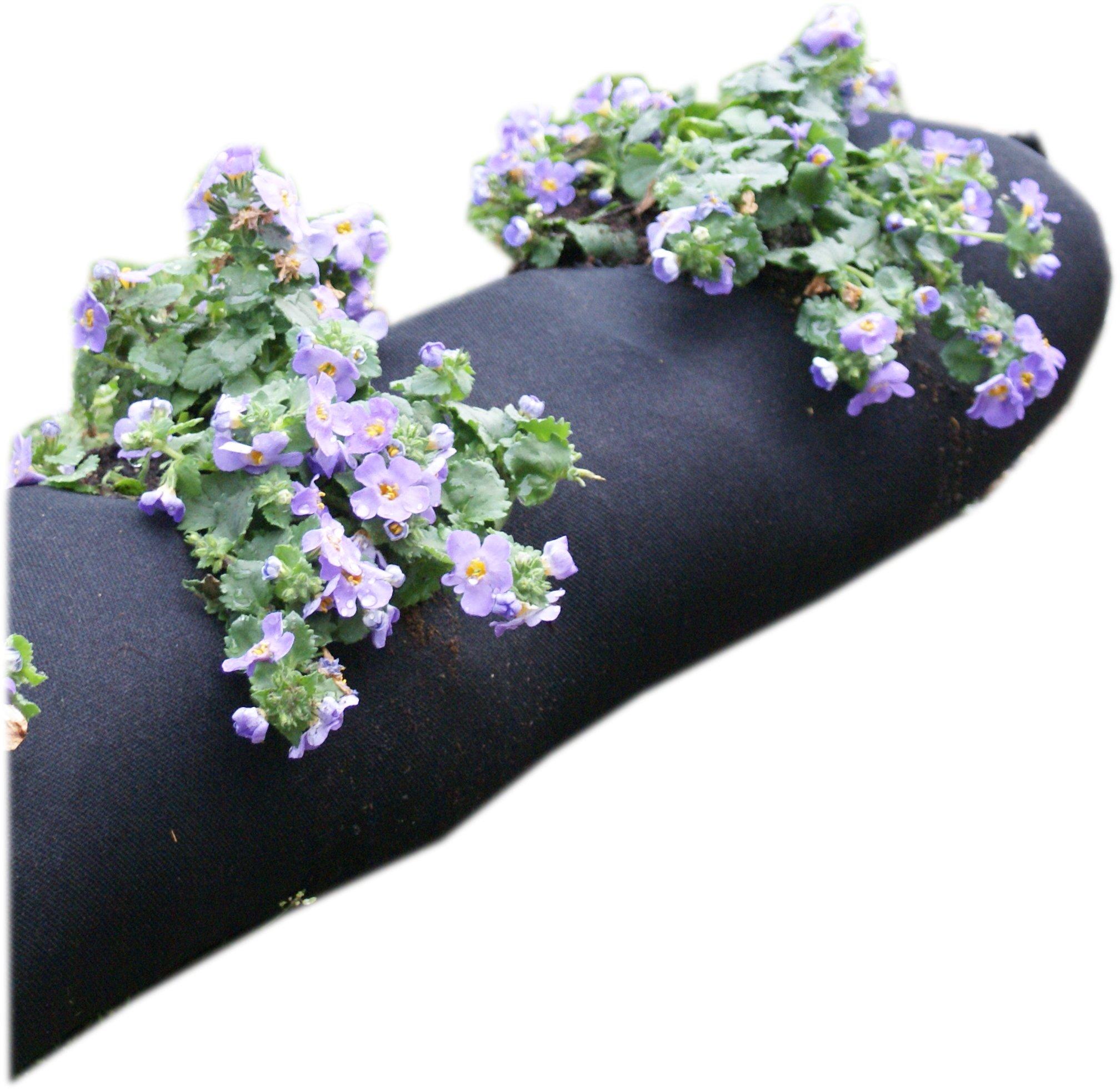 4m plantation geotextile weed tissu jardin. Black Bedroom Furniture Sets. Home Design Ideas
